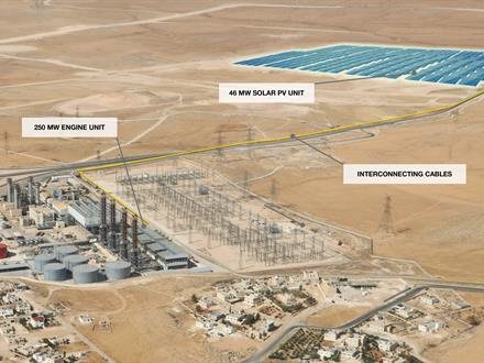 Wärtsilä delivered IPP4, the 250 MW multi-fuel plant to AES Jordan on a fast-track, turnkey basis in 2014.
