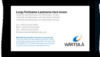 Wrtsil brand hub documents business card 2 colourmoves