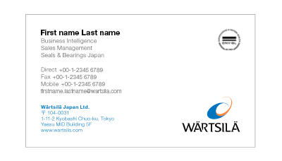 business card 6 - Japanese Business Card