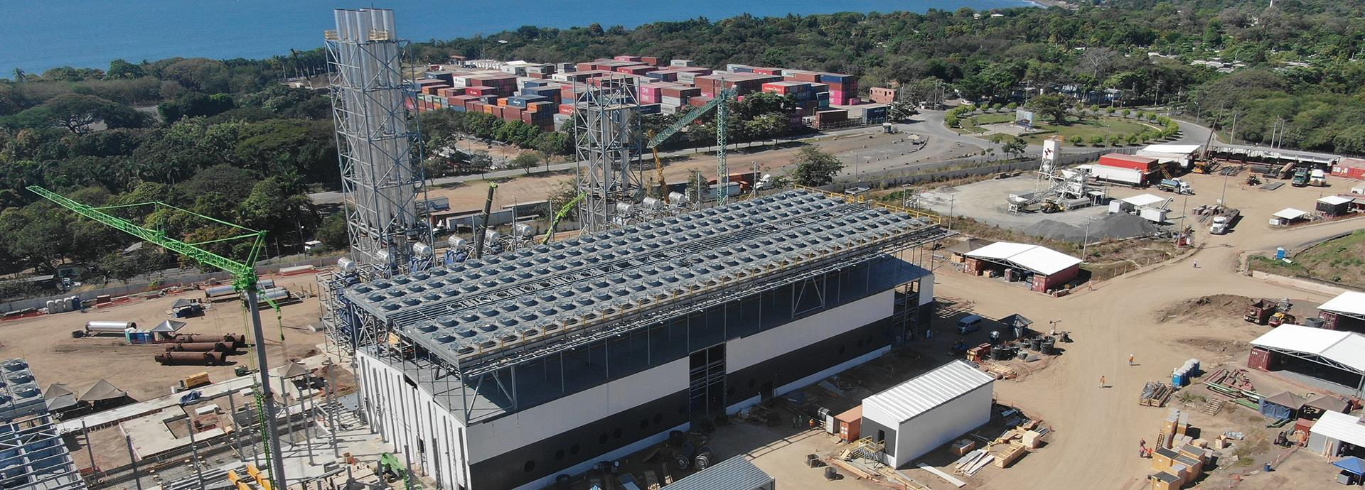 Wärtsilä 378 MW Energía del Pacifíco project in El Salvador 1920