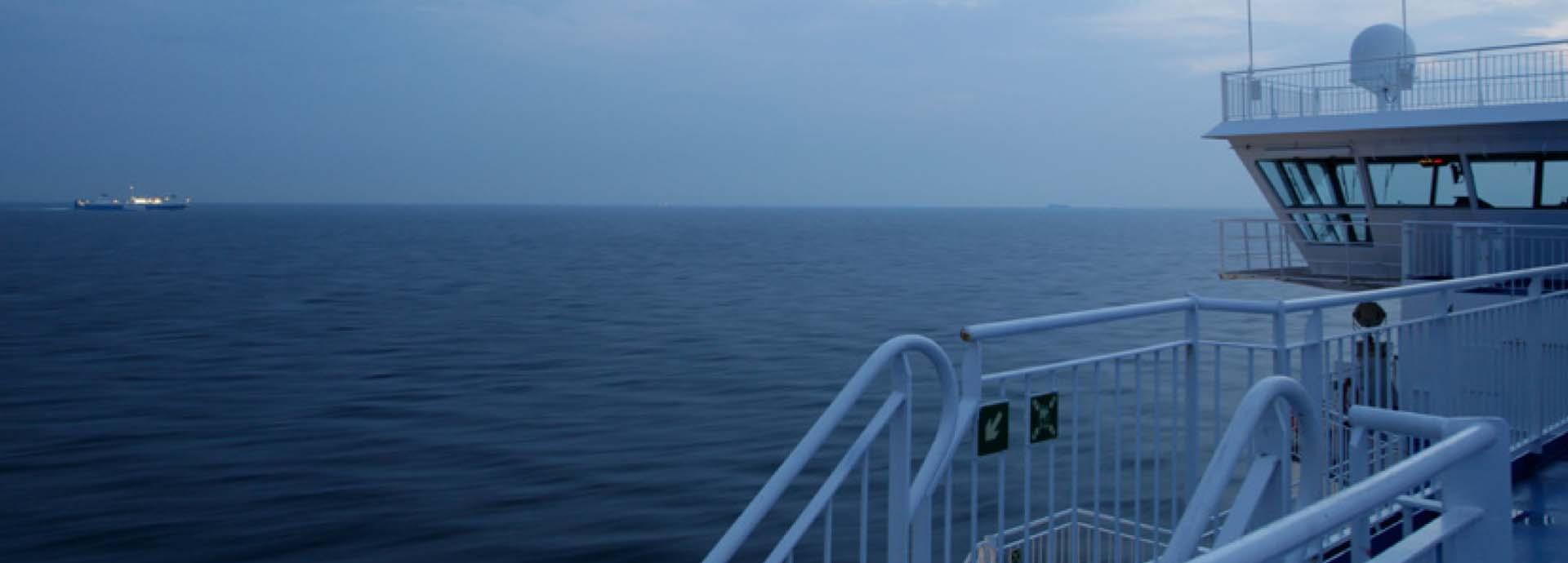 A clean environment Towards zero-emission shipping banner