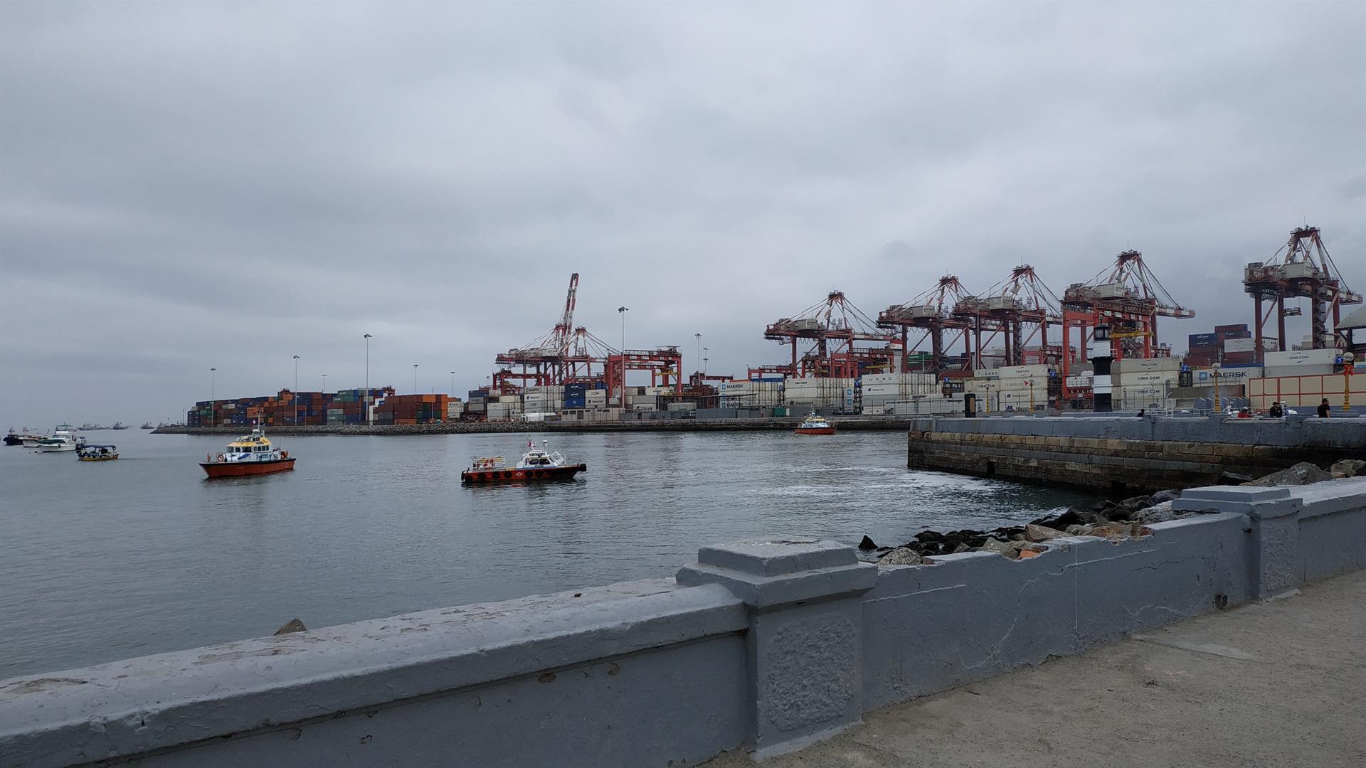 Peru Callao port