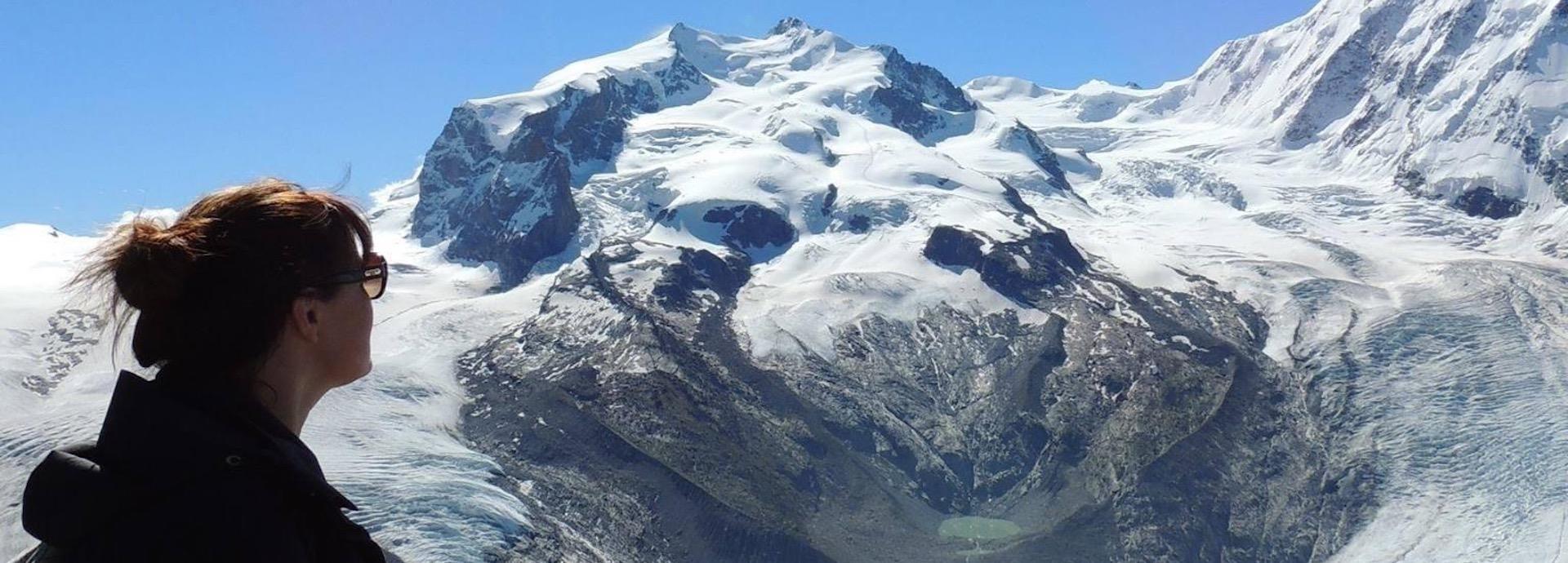 Malin Berg in Switzerland