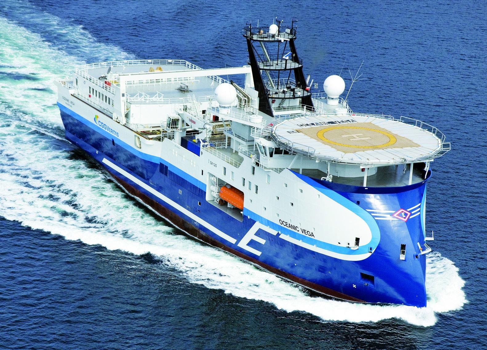 Seismic Ship OCEANIC VEGA