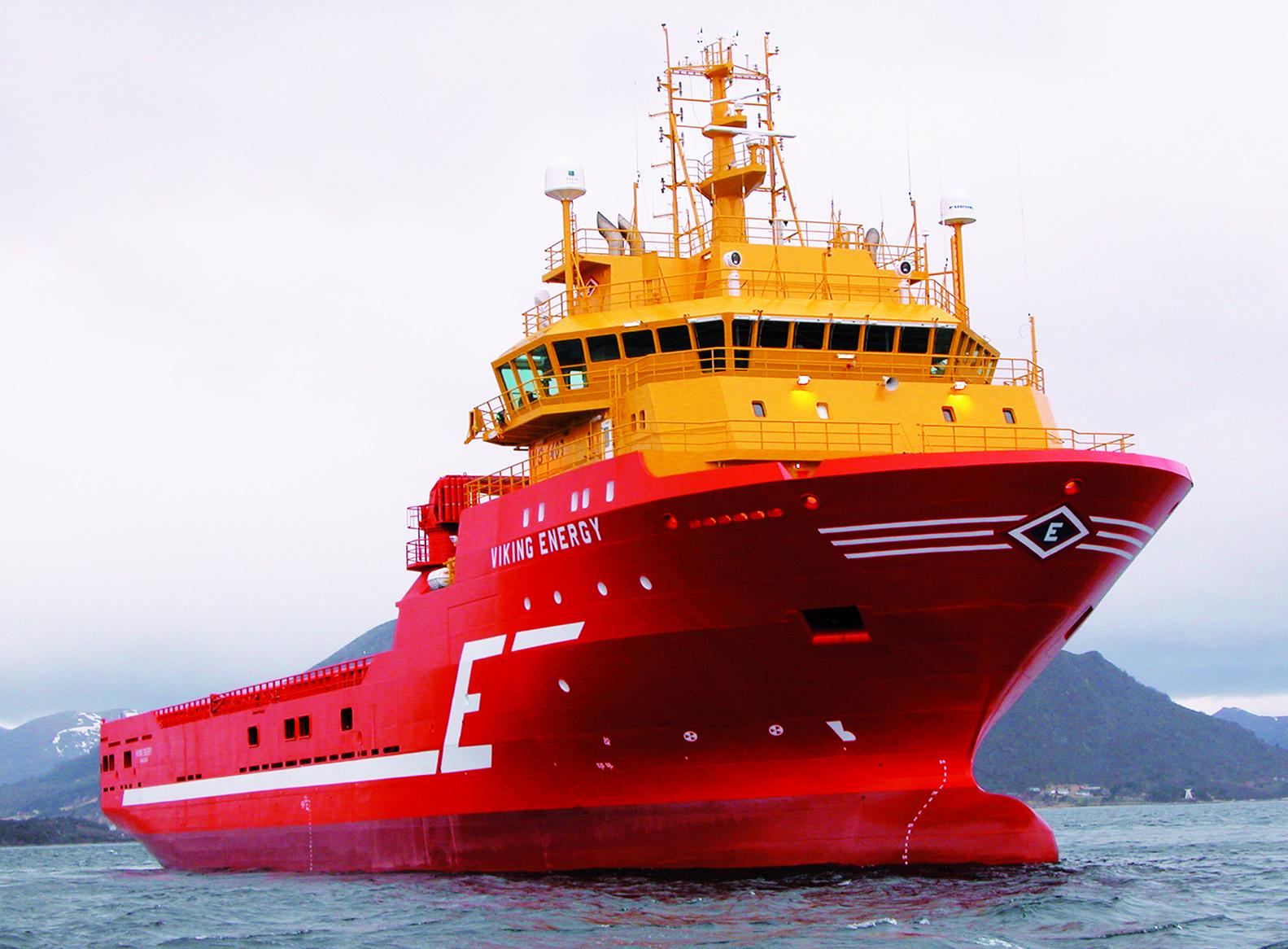 Platform supply vessel VIKING ENERGY