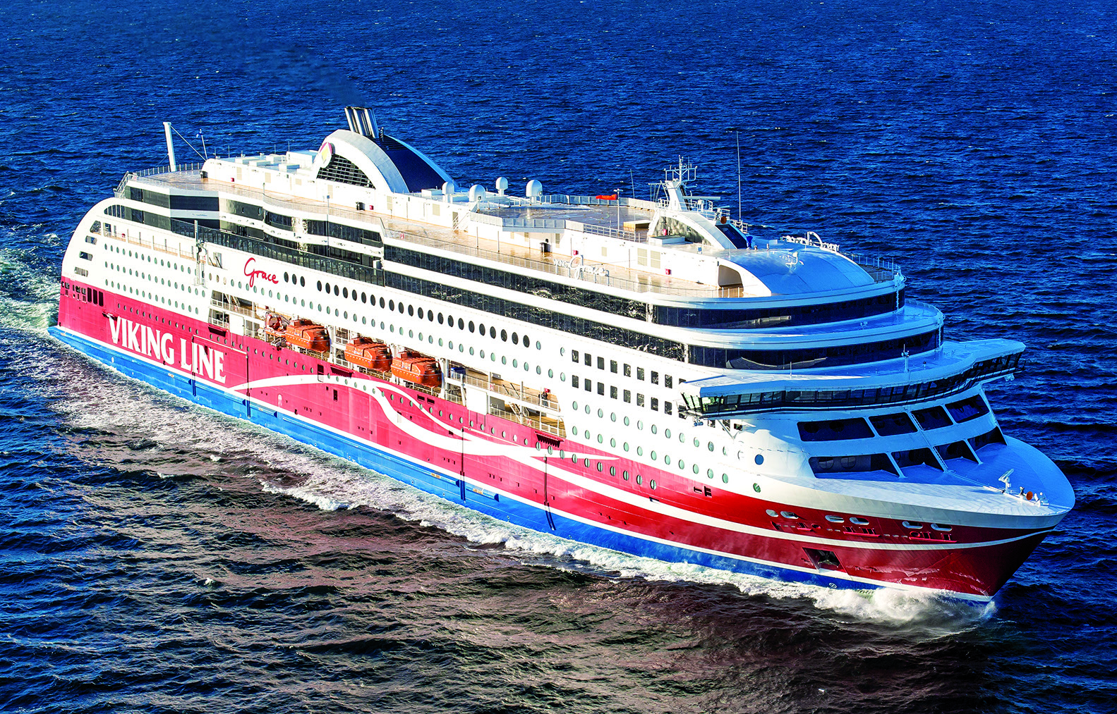 Natural gas-fuelled ferry VIKING GRACE