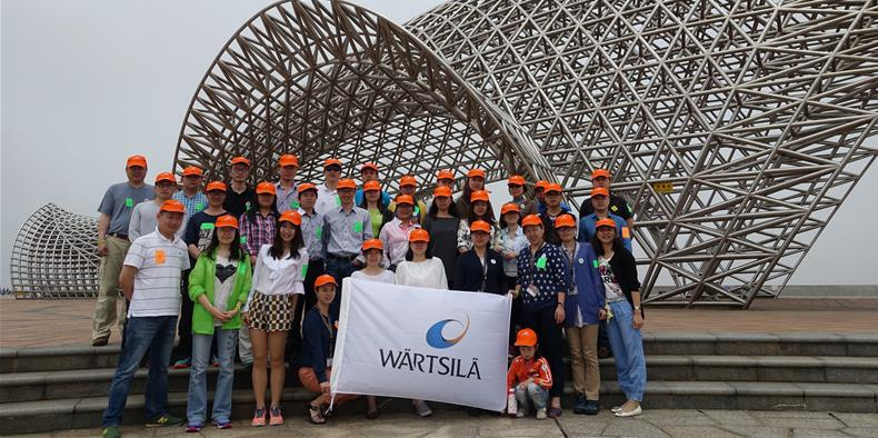 Wartsila China Volunteers Group Picture