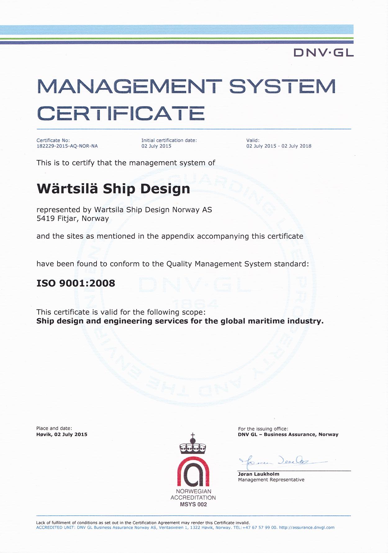W U00e4rtsil U00e4 Ship Design