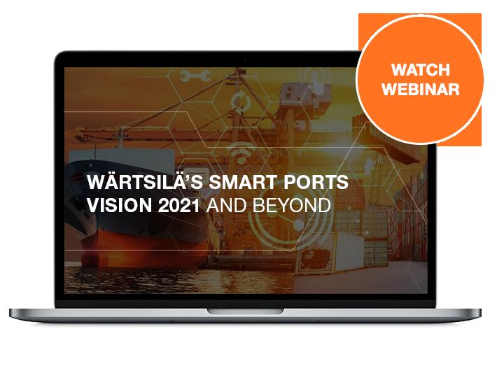 Wärtsilä's SMART Ports Vision 2021