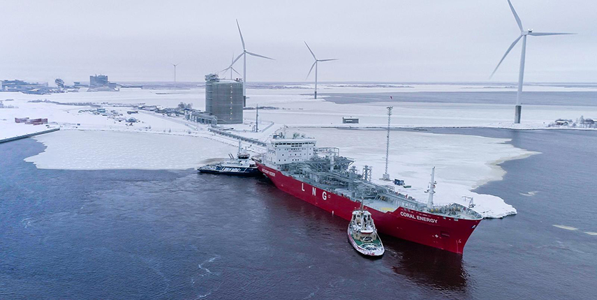 The first LNG shipment delivered to Tornio Manga LNG