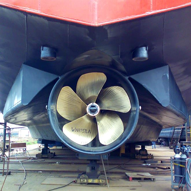 Wärtsilä coastal inland waterway propellers
