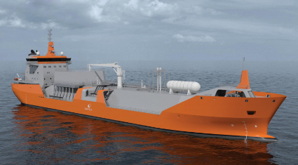 WSD55 12K, LNG carrier ship design