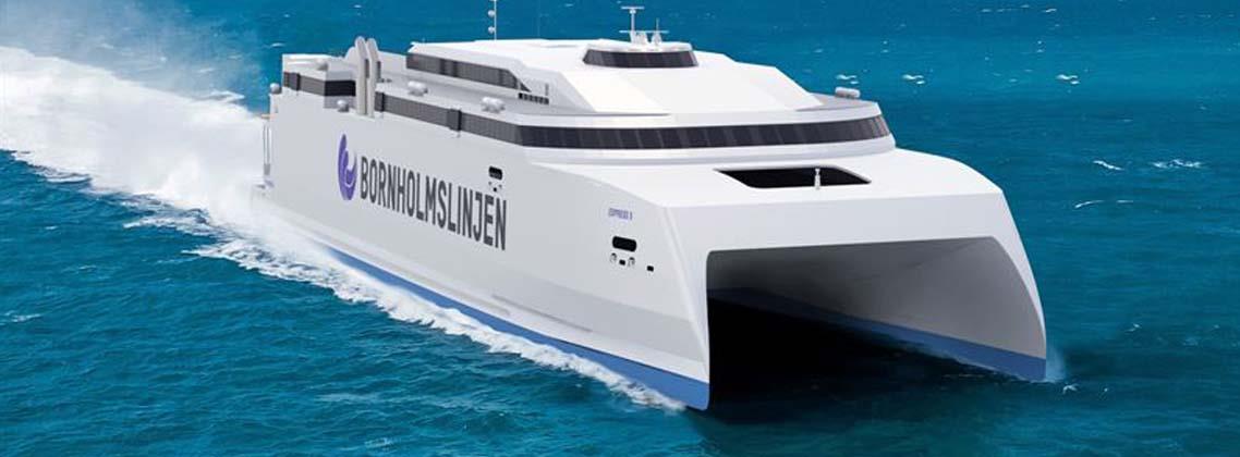 High-speed ferry Molslinjen slide