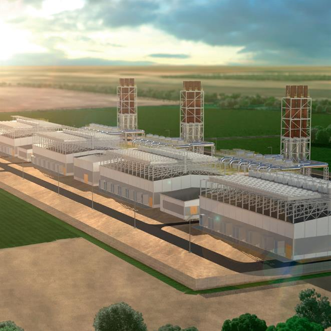 Combined cycle upgrade solution - illustrated power plant