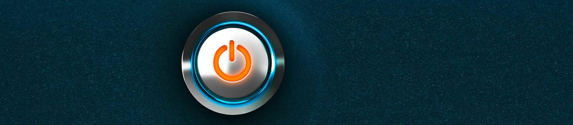 Operim power button banner