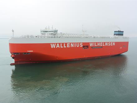 "The Ro-Ro vessel ""Theben"" is equipped with an exhaust gas cleaning (EGC) System from Wärtsilä. The system is the first EGC to be approved by an Asian flag authority."