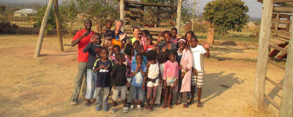 Wärtsilä employees at a power plant construction site in Zambia are donating their leftover timber to a local orphanage.