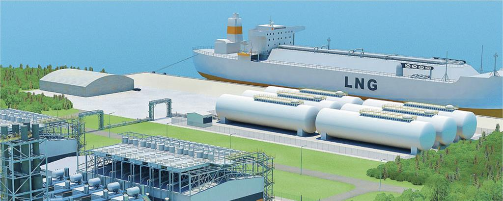 Completing the LNG value chain master