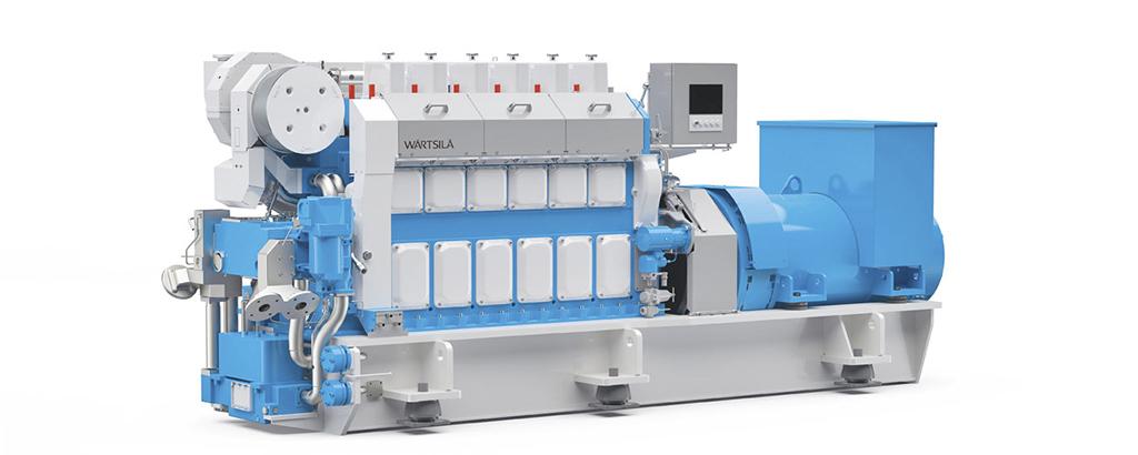 Expanding Wärtsilä's Auxpac engine portfolio master