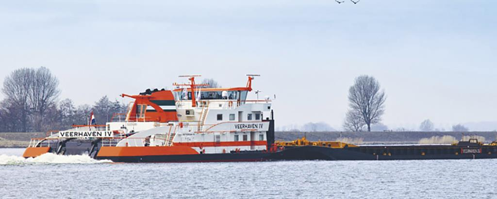 The path to cleaner inland waterway shipping master