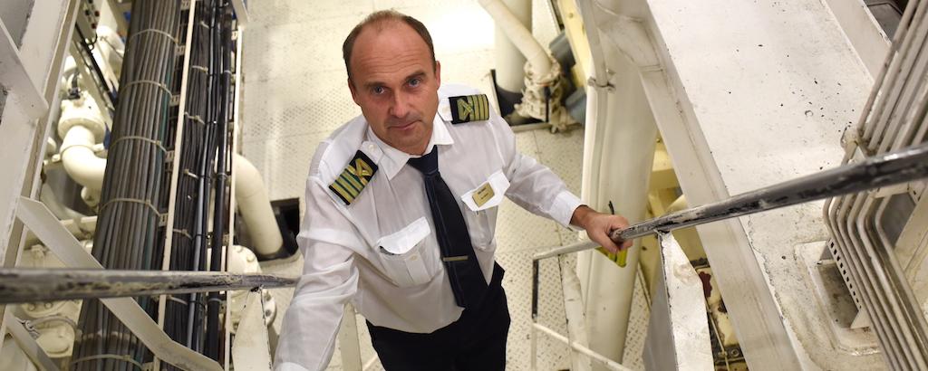 MS Birka Stockholm Chief Sture Nylund