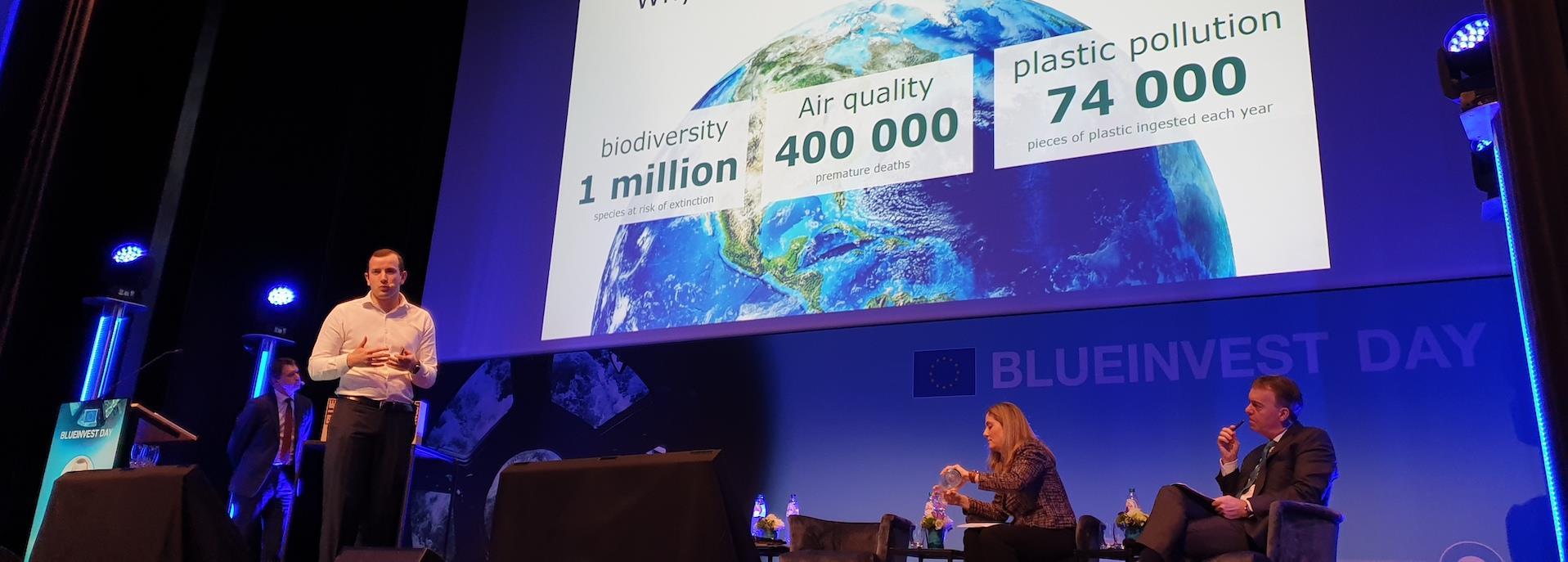 Speaker at Blue Invest Day