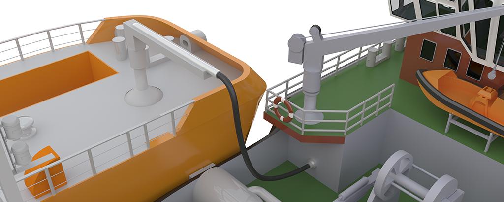 cover_LNG_Tug-Barge-Bugsier_Close-up_Fuel-Hose