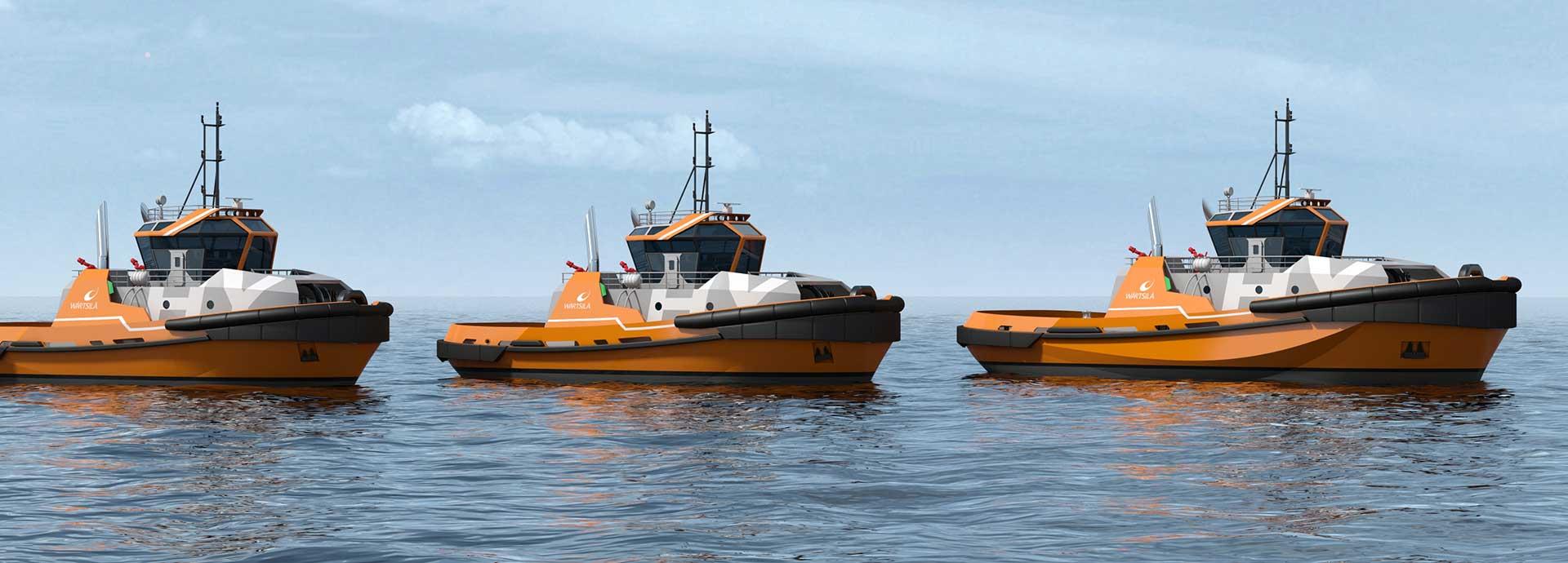 Eco-friendly tugs make a splash
