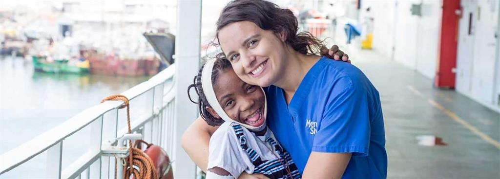 Global Mercy ships hope and health to people in poverty