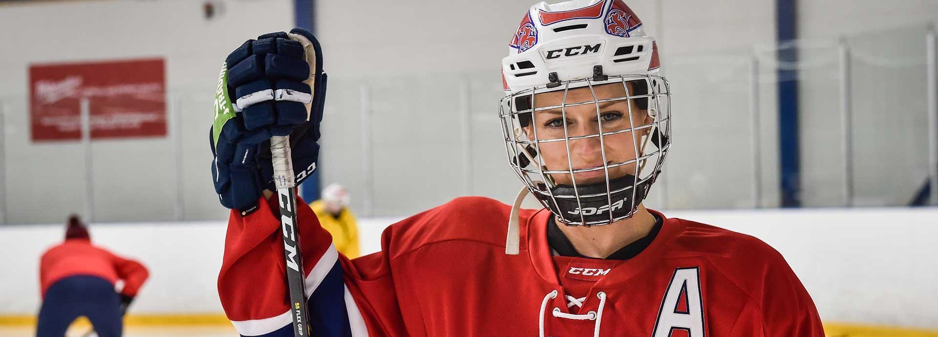 Mia Heikuri's heart beats for hockey and HIFK