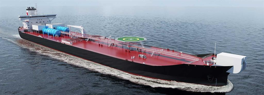 New shuttle tanker beats the emissions clock