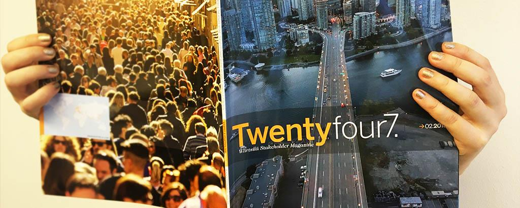 The latest issue of Twentyfour7. is out