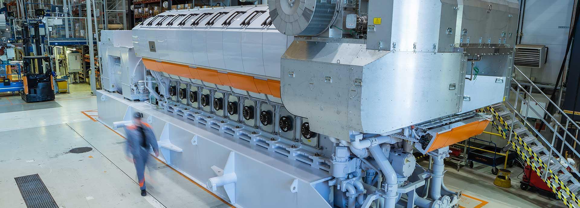 Wärtsilä 31SG the world's most efficient 4-stroke engine