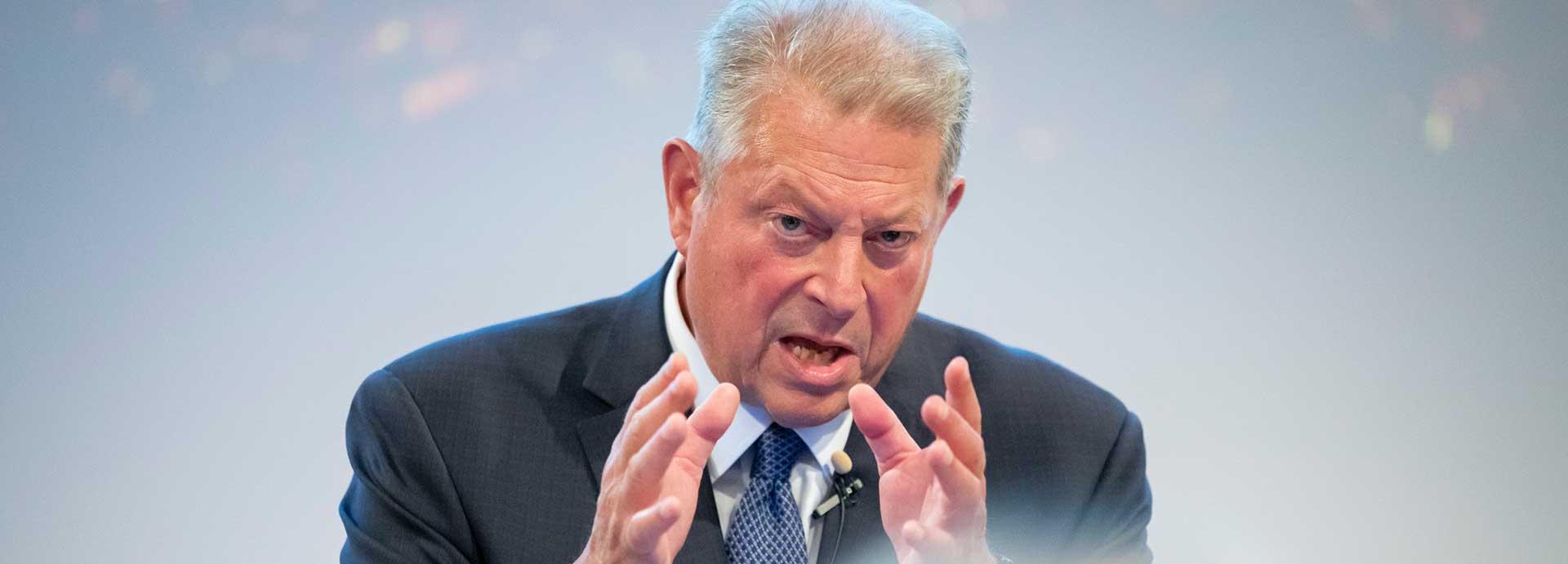 Al Gore speaks truth to power